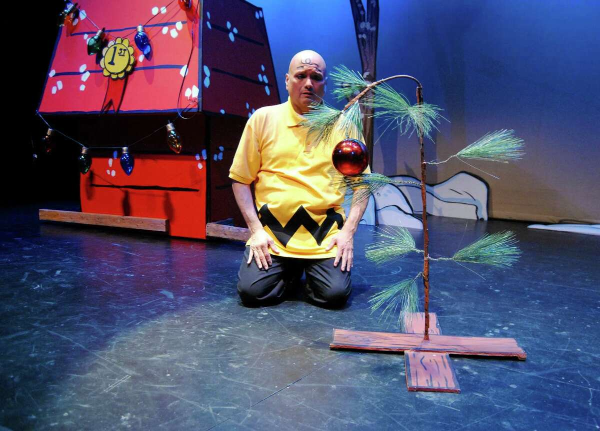 """Greg Hinojosa played the title role in Magik Theatre's 2017 production of """"A Charlie Brown Christmas."""" He was a founding member of the company."""