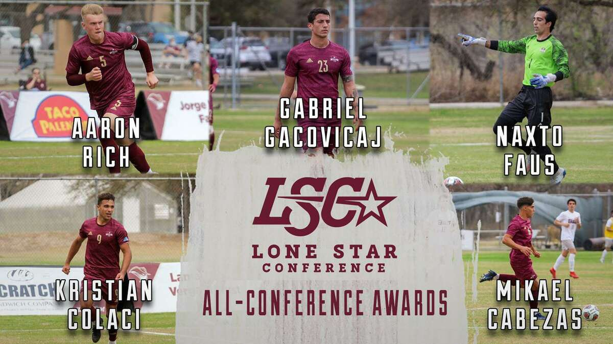 TAMIU had five players selected in the All-LSC honors with Mikael Cabezas, Kristian Colaci, Naxto Faus, Gabriel Gacovicaj and Aaron Rich recognized.