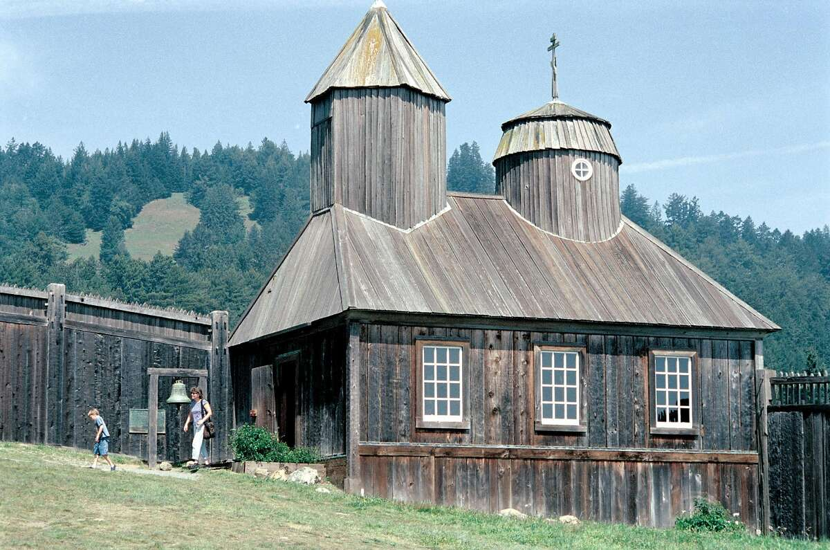 The Russian Orthodox chapel is the centerpiece of Fort Ross State Historic Park in Sonoma County.