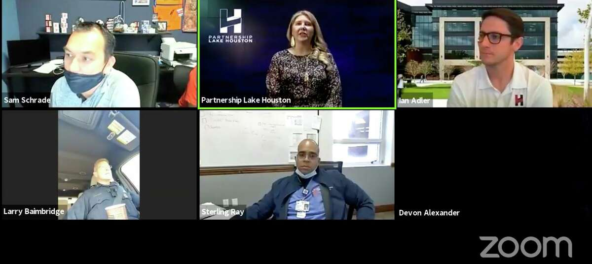 Partnership Lake Houston held their Kingwood BizCom on April 8, discussing important local business information including flood prevention and infrastructure via a virtual Zoom event.
