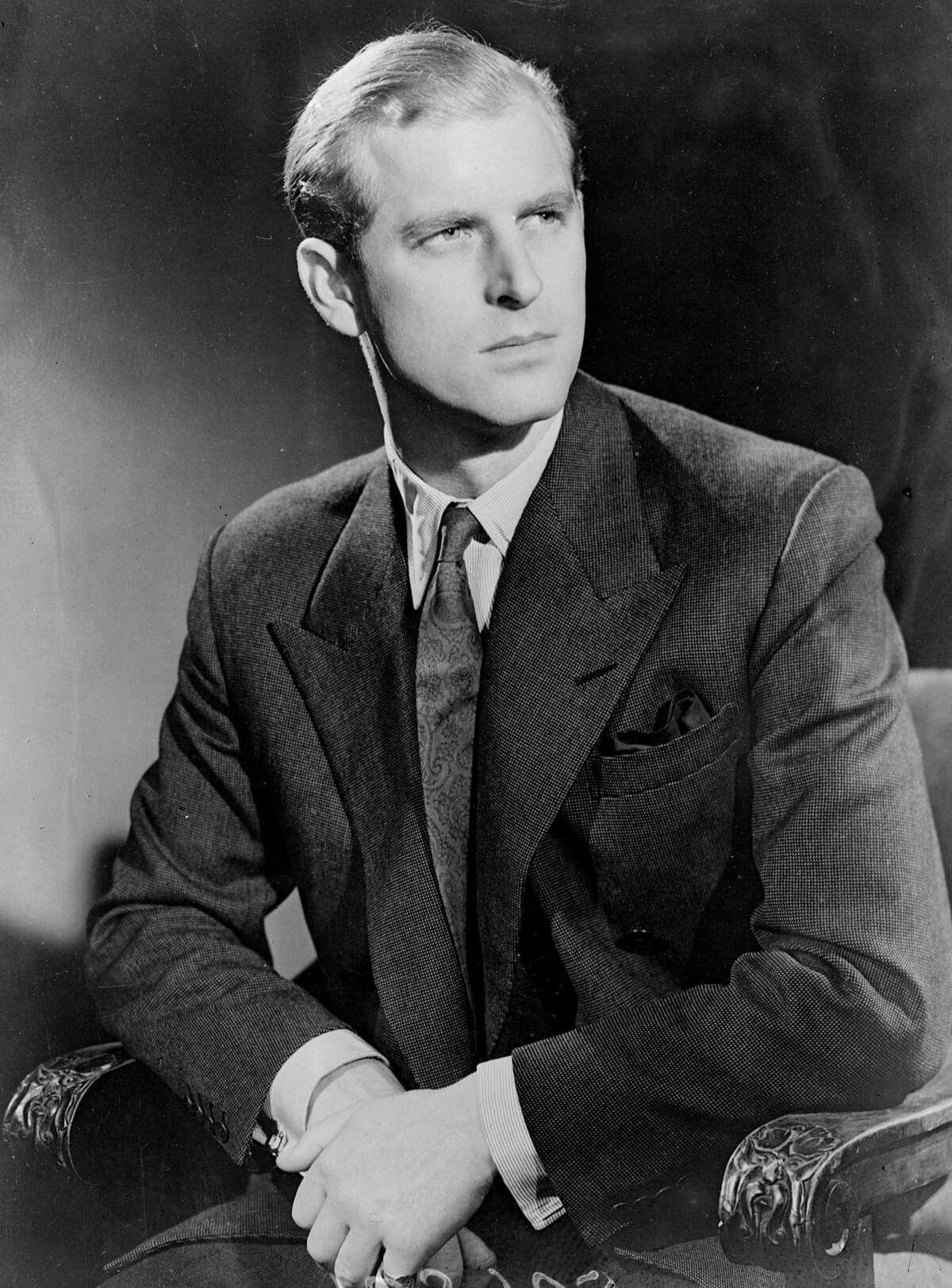 19th November 1947: Lieutenant Philip Mountbatten, later HRH the Duke of Edinburgh. (Photo by Keystone/Getty Images)