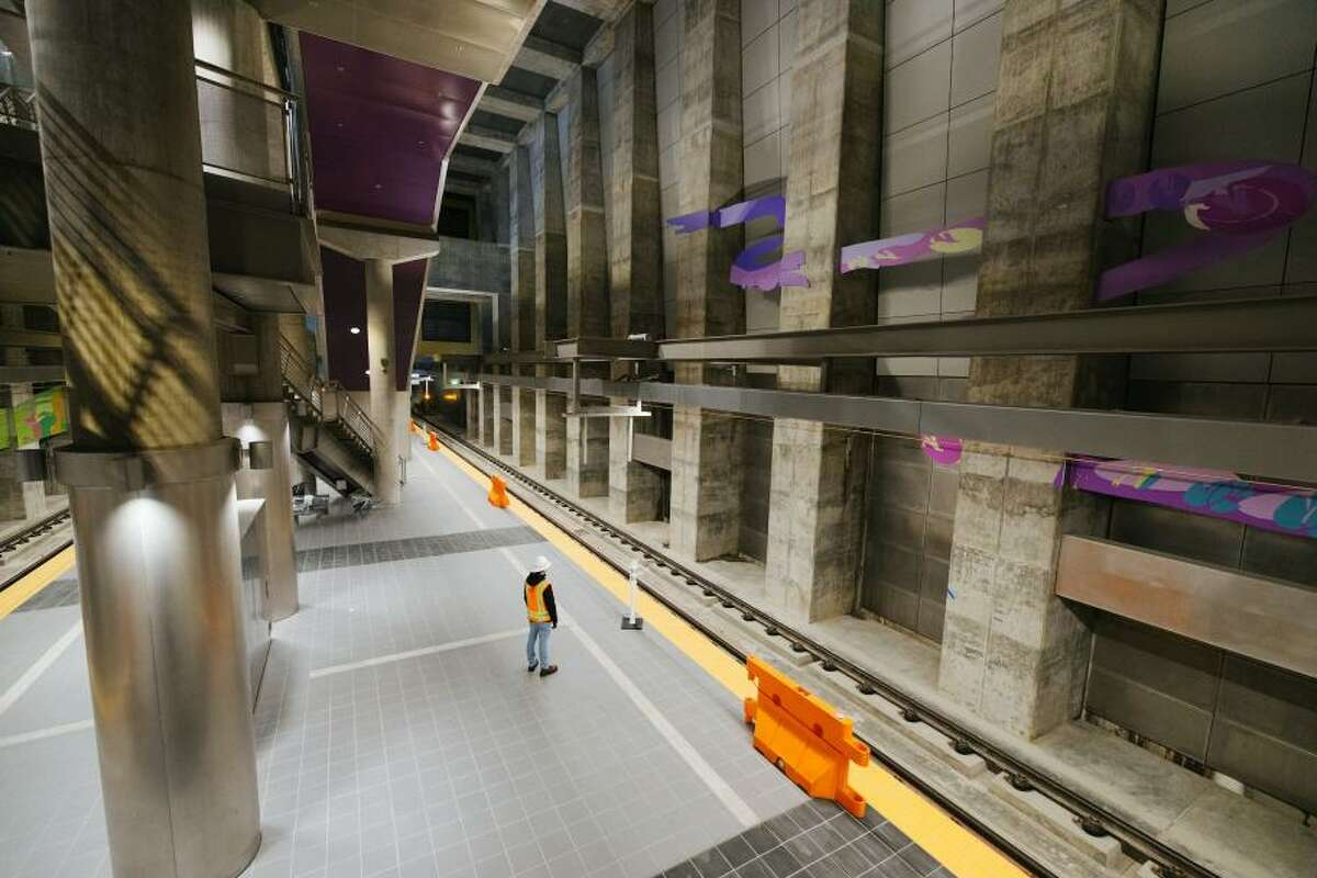 New Roosevelt station set to open this fall.