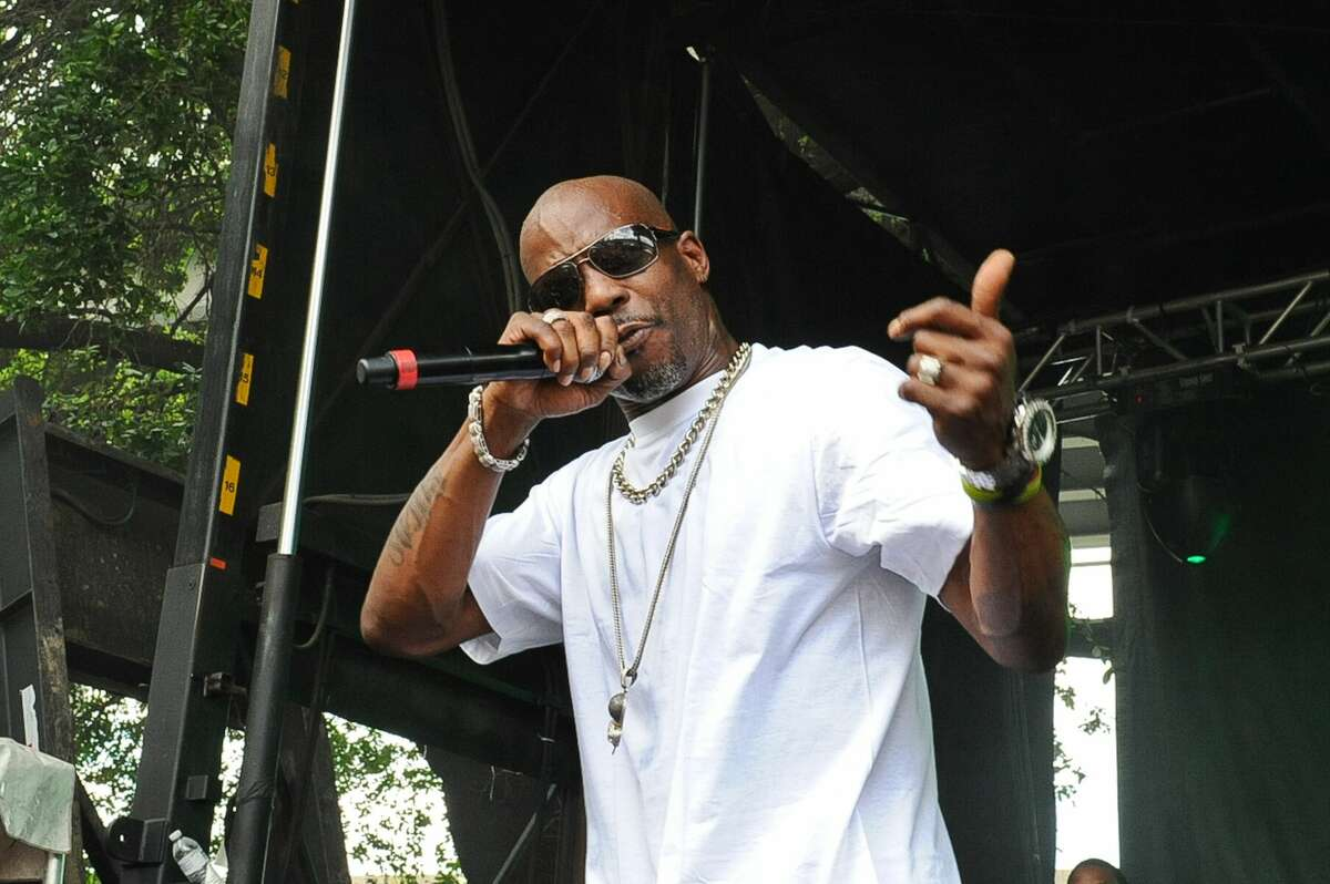 DMX performs during Free Press Summer Festival (FPSF) in Eleanor Tinsley Park on June 1, 2014 in Houston, Texas. (Photo by Manuel Nauta/NurPhoto) (Photo by NurPhoto/Corbis via Getty Images)