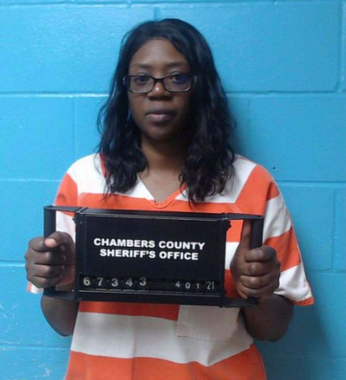 Toccara Greene, of Wallisville, was arrested last week in connection to local and federal investigations.
