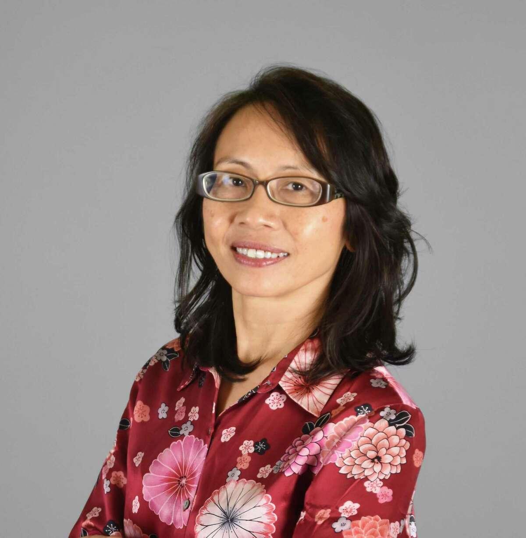 Yen Rabe is running against Pasadena ISD Position 3 incumbent Nelda Sullivan in the May 1 election.