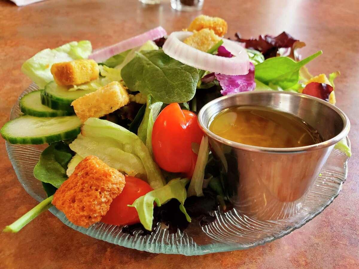 A hot day and a cold, crisp garden salad go hand-in-hand. (Scott Nunn/Huron Daily Tribune)