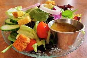 A hot day and a cold, crisp garden salad go hand-in-hand. (Scott Nunn/Huron Daily Tribune)