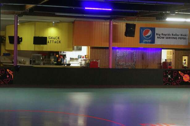 After being shutdown for more than a year, the Big Rapids Roller Rink opened its doors once again last weekend. (Pioneer photo/Joe Judd)