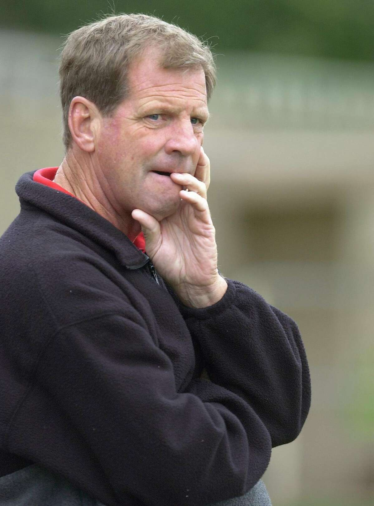 An ex-student has accused former University High School soccer coach Rusty Taylor of abuse.