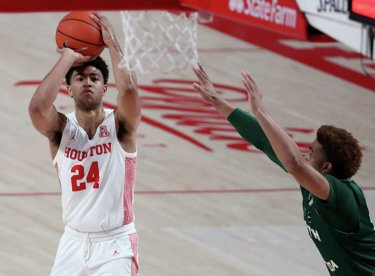 Houston guard Quentin Grimes will enter the NBA draft.