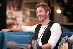 BUSY TONIGHT -- Episode 1088 -- Pictured: Guest Chad Michael Murray on the set of Busy Tonight -- (Photo by: Jordin Althaus/E! Entertainment/NBCU Photo Bank/NBCUniversal via Getty Images)