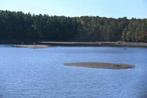 North Stamford Reservoir in Stamford, Conn.