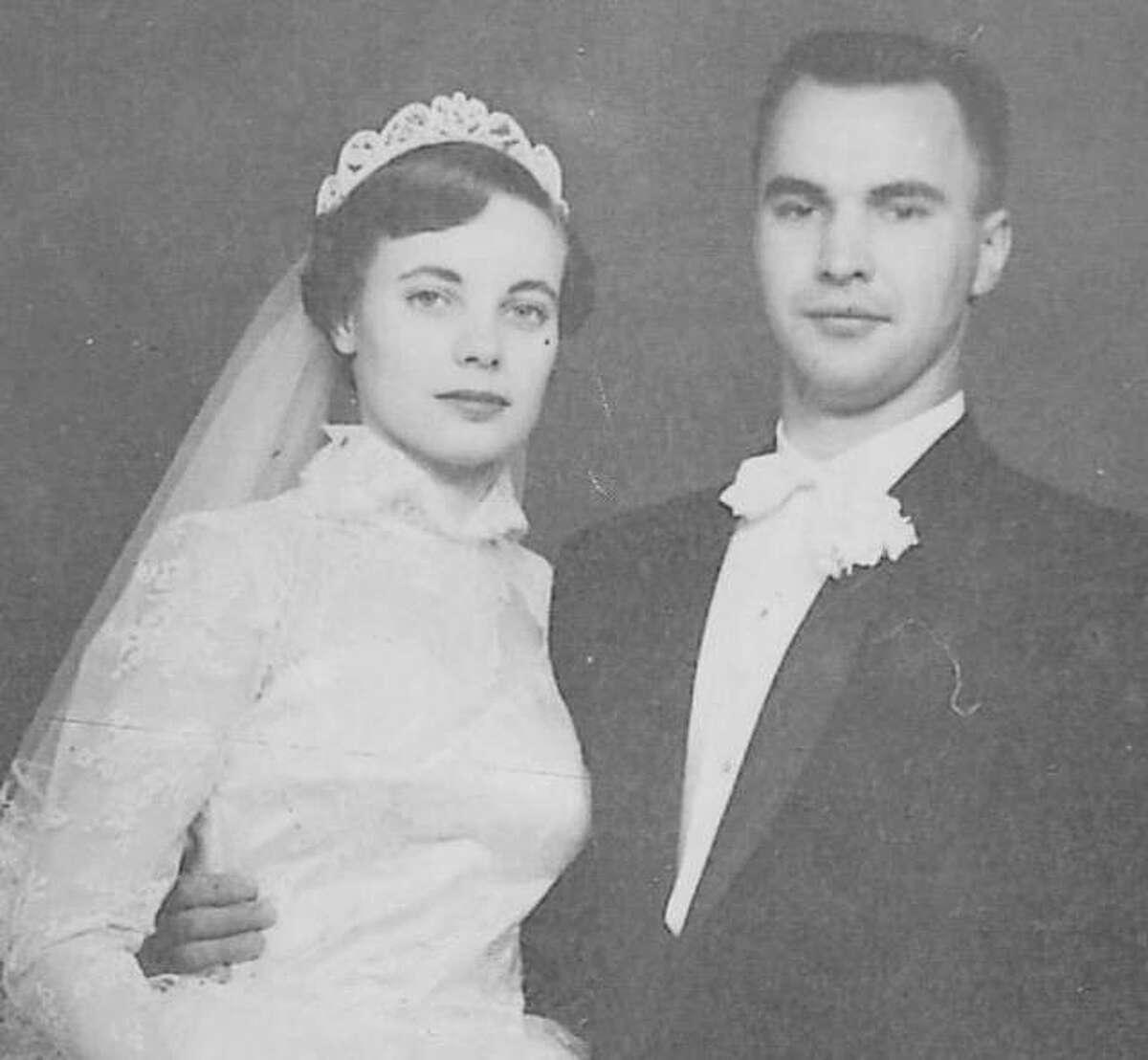John and Eula Klockenkemper at their wedding