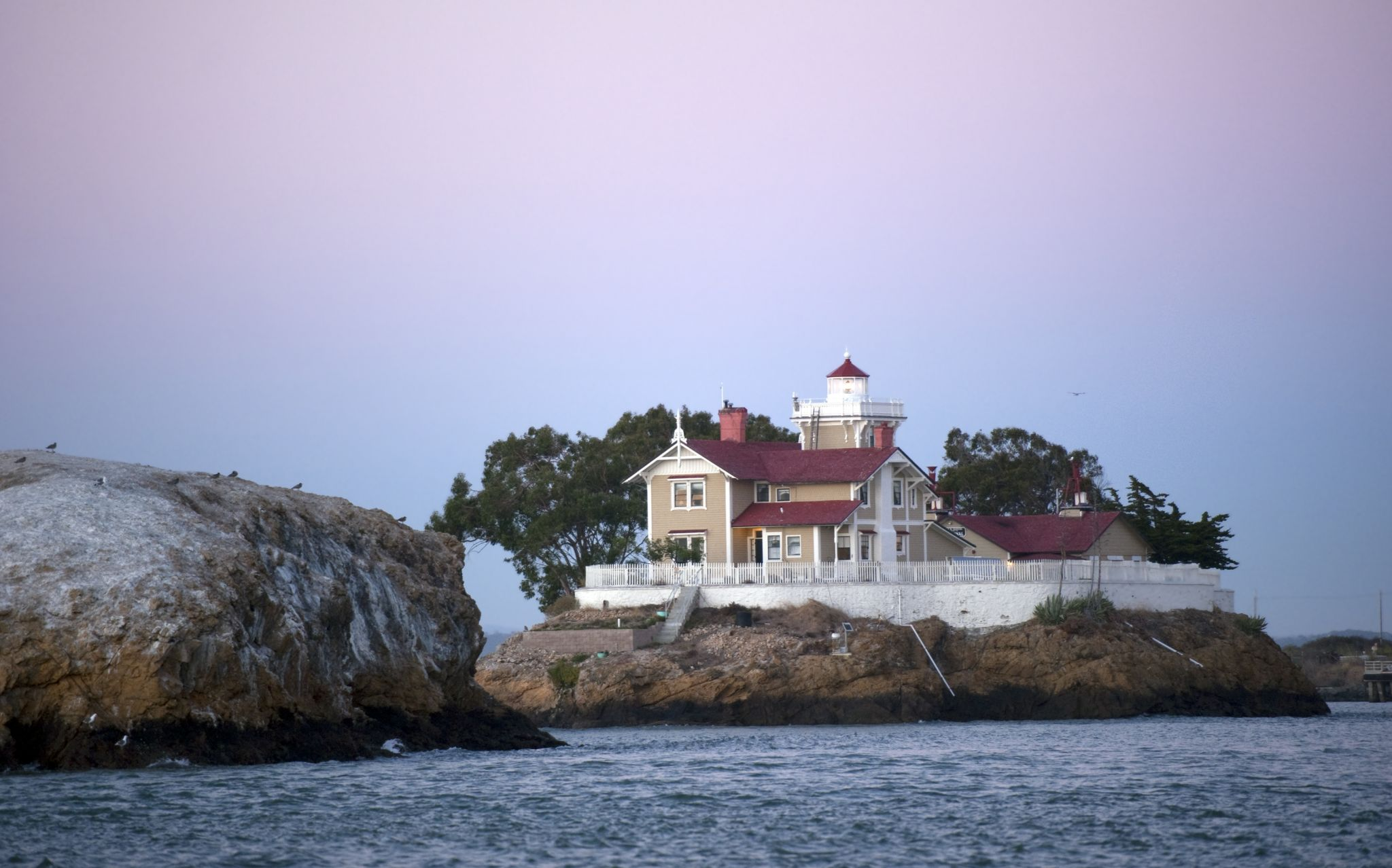 'We're in a lot of trouble': East Brother Light Station has no power