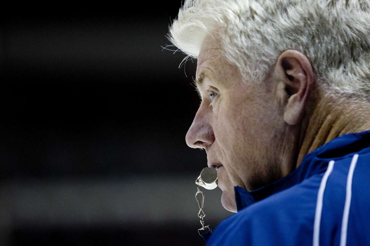 """Former River Rats coach Dennis """"Red"""" Gendron died from an apparent heart attack while golfing in Maine on Friday."""