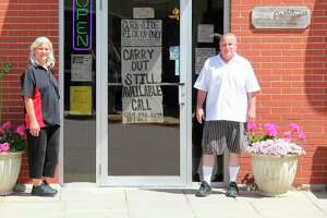 Helen and Kevin Wiley, owners of The Pasta House in Kinde, have decided to transition the restaurant to curbside only for two weeks following the governor's request issued statewide April 9. (Tribune File Photo)