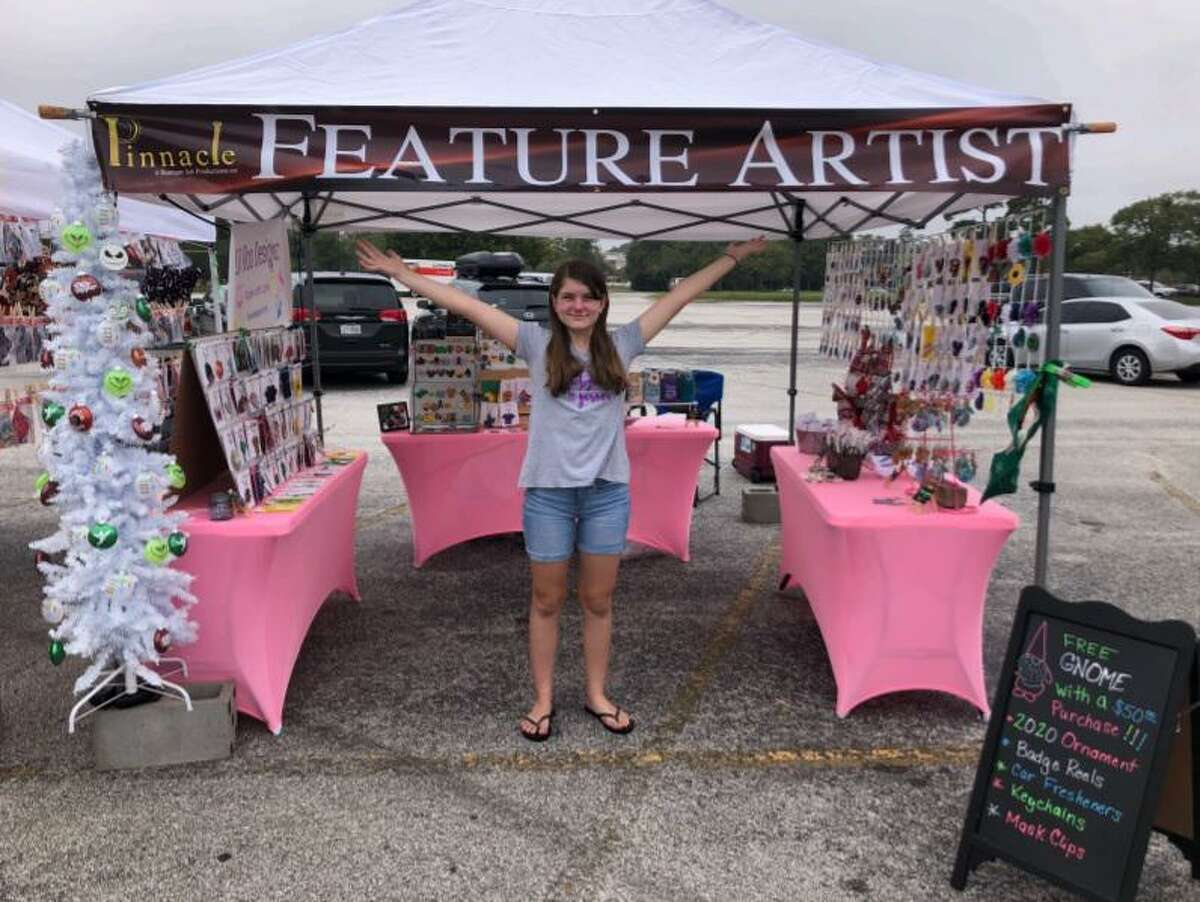 Sugar Land entrepreneur Lily Rood, 13, is celebrating five years of her Lil Roo Designz craft business.