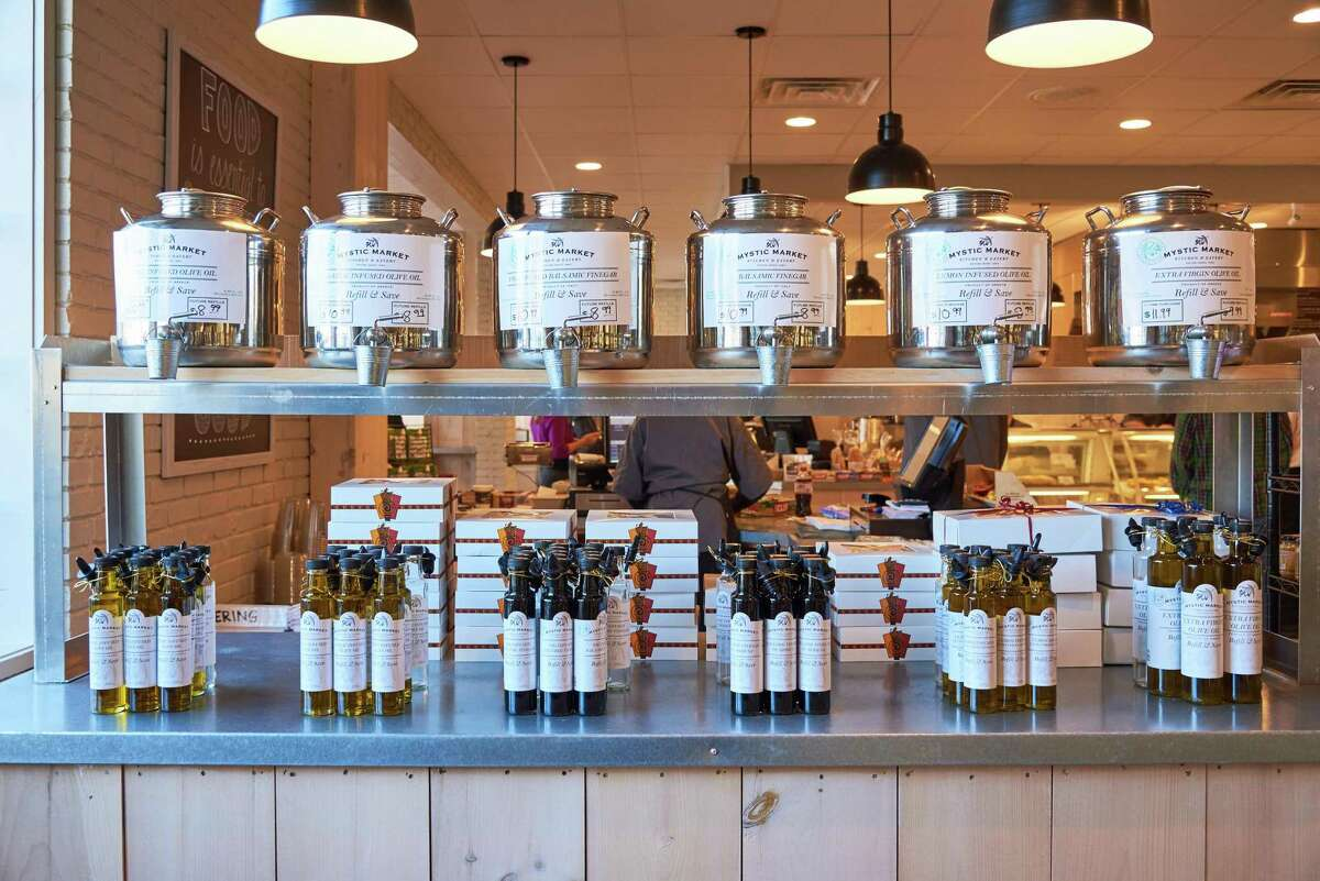 The Foxwoods location of Mystic Market will also have a retail component, with items like olive oils, vinegars and spices.