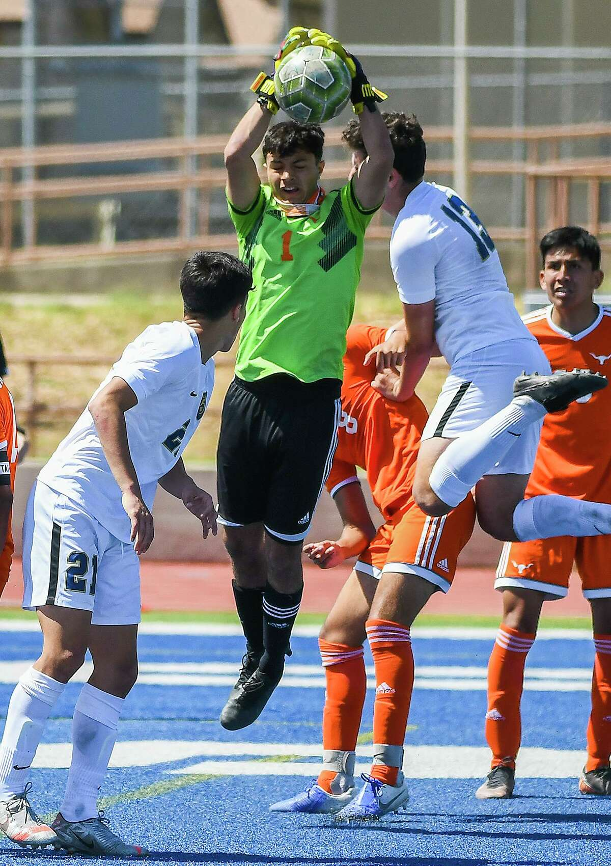 United's Roberto Ortiz was named the District 30-6A Goalkeeper of the Year.