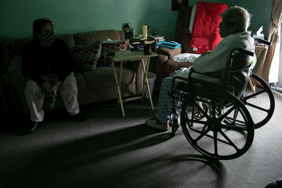 Residents in senior housing try to stay warm during the winter freeze. The freeze and the pandemic dealt a double blow to many seniors, one that will require more than a vaccine.