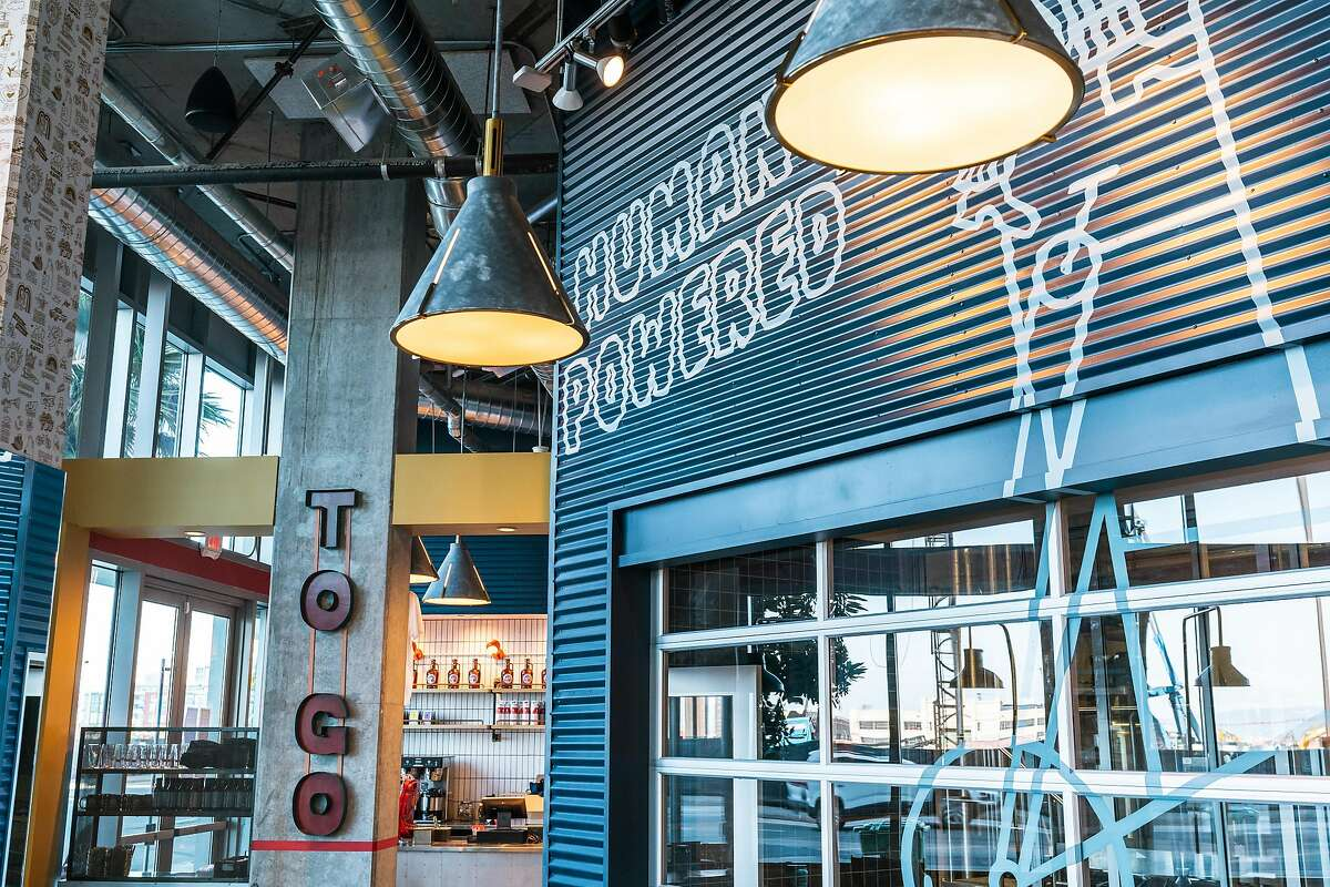 New Belgium Brewing opened a new restaurant and taproom in Mission Bay on Friday, April 9, 2021.