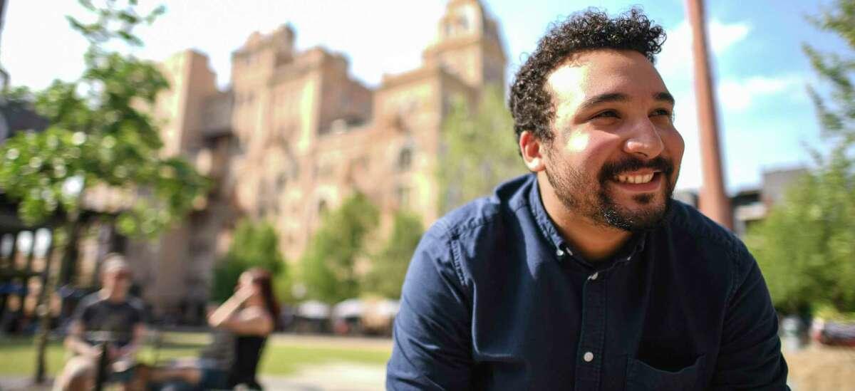 "Bradley Freeman Jr., a puppeteer from San Antonio, plays Wesley Walker, a new Black Muppet introduced as part of a racial literacy program on digital platforms for ""Sesame Street."""