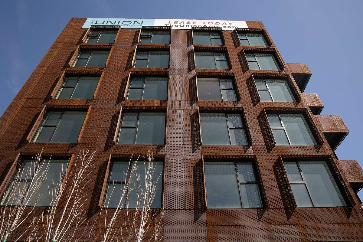 The Union apartments near West Oakland BART Station at Magnolia and Seventh streets are nearly complete.