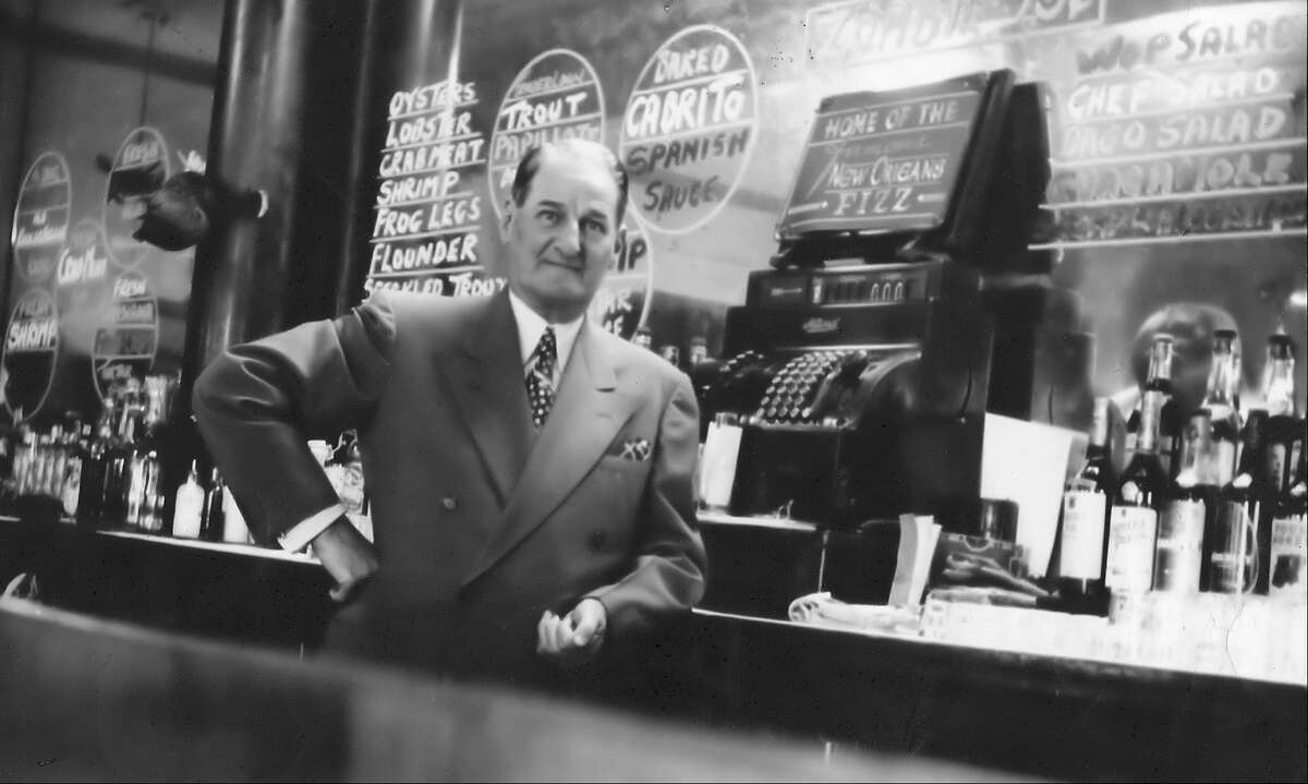 Mayo Bessan stands behind the bar of the Cadillac Bar in Nuevo Laredo. Founded in 1924, the bar was an oasis of gentility that attracted celebrities, politicians, ranchers, tourists and others for more than 50 years.