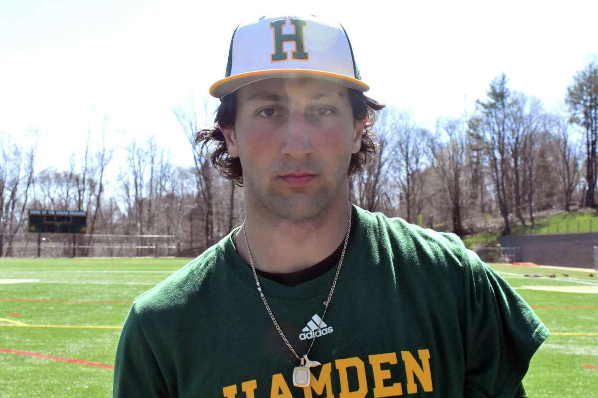 Hamden's Jake Pisano.