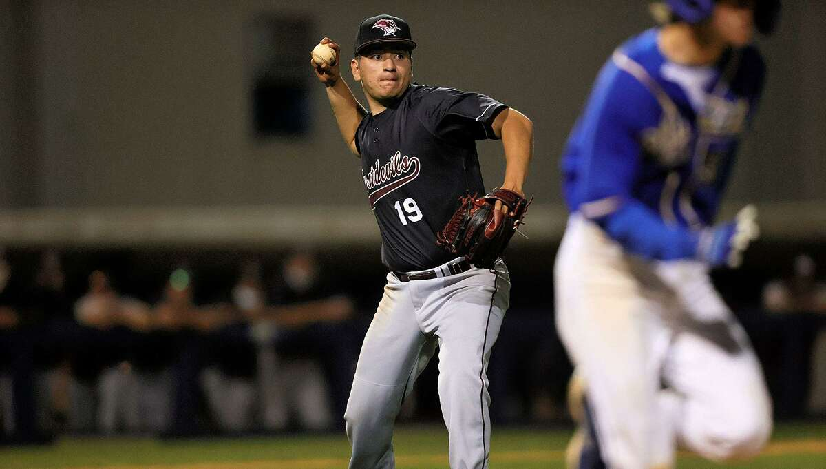 Abanny Garcia took the loss Friday in TAMIU's 4-1 defeat at St. Edward's as he allowed three runs, four hits and three walks with three strikeouts in four innings.