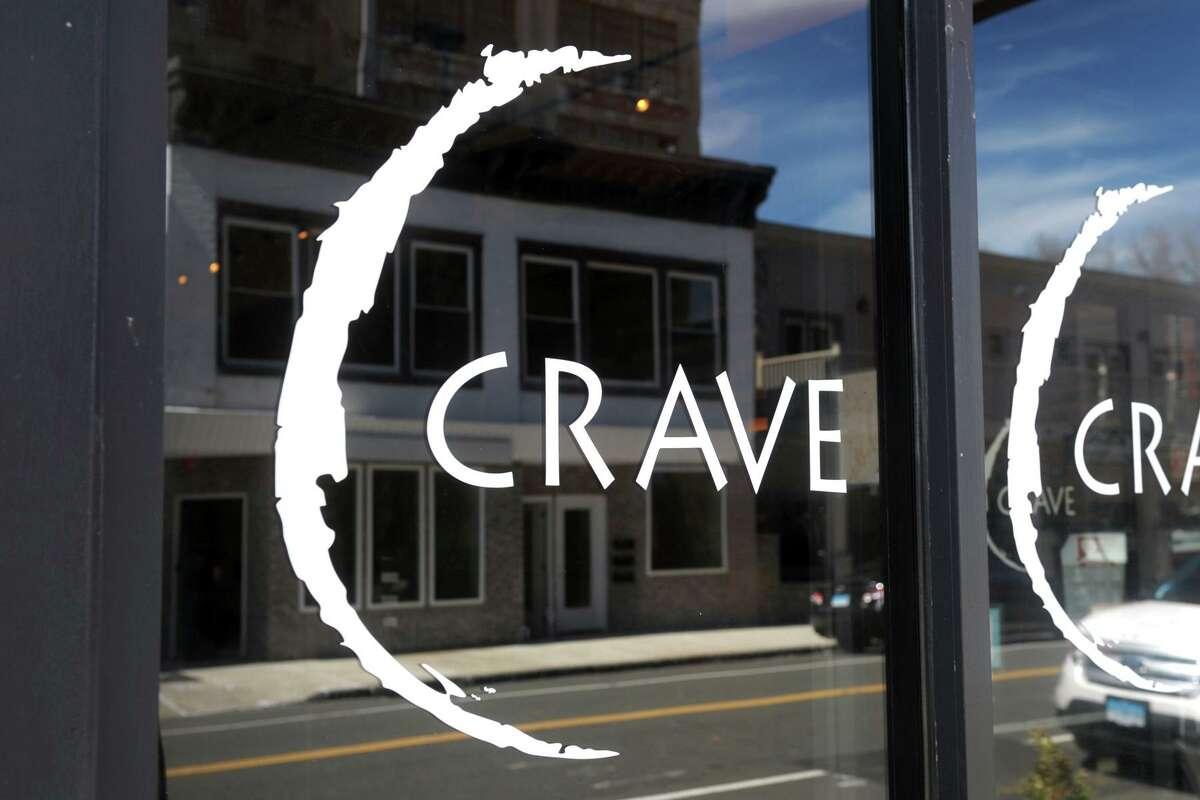 Crave, a restaurant in Ansonia, Conn. April 7, 2021.