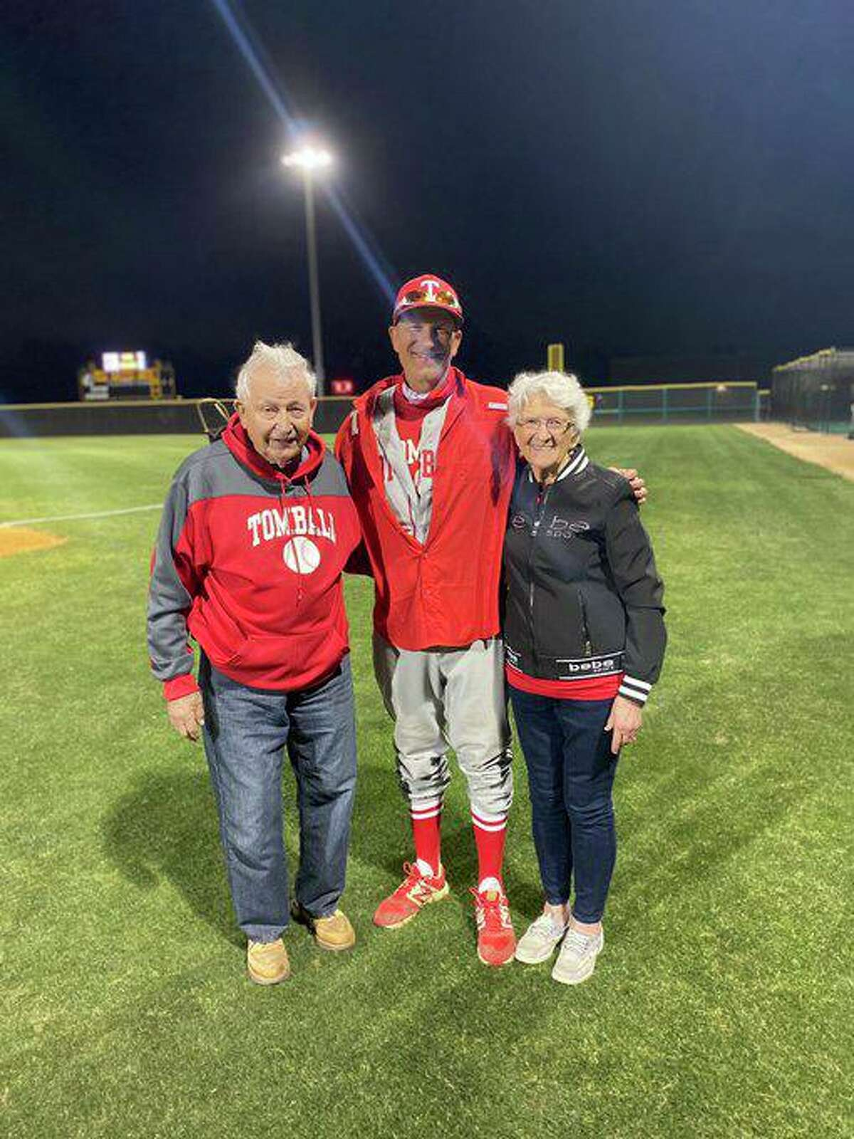 Tomball baseball coach Doug Rush earned his 500th career victory in a 2-0 win against visiting Klein Oak Tuesday, April 6. Rush was named District 15-6A Coach of the Year.