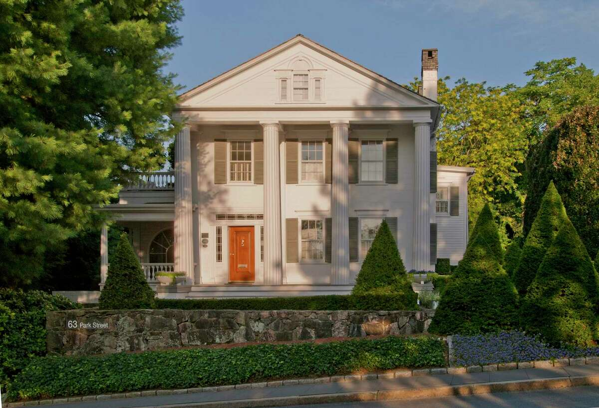 The house at 63 Park St. in New Canaan, Connecticut, is a restored 1836 Greek Revival house where editor and publishing legend Max Perkins read and edited the manuscripts of F. Scott Fitzgerald, Thomas Wolfe, Ernest Hemingway and Marjorie Kinnan Rawlings. It is on the National Register of Historic Places.