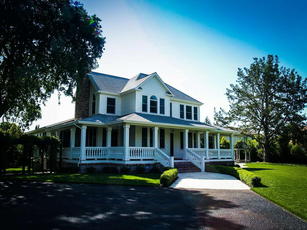 1061 Orchard Ave., in Napa is a four-bedroom country farmhouse available for $1.98 million.
