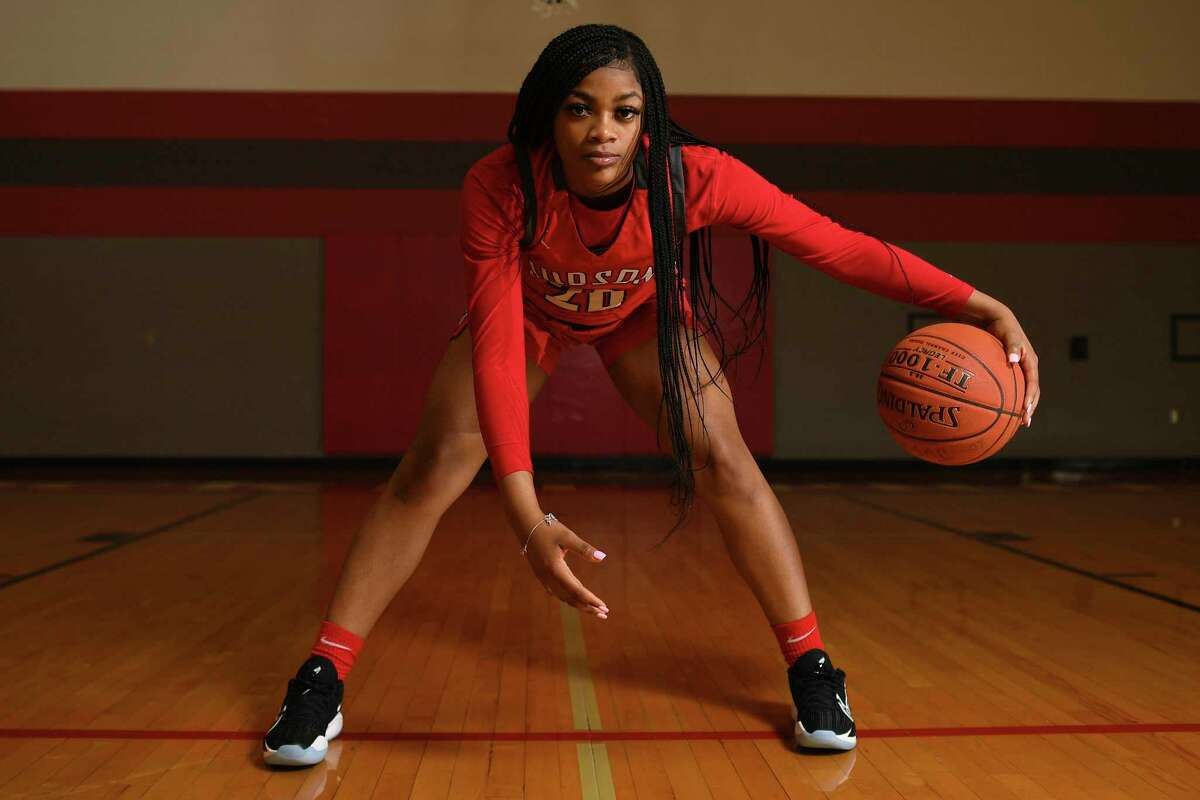 Kierra Sanderlin of Judson is the 2021 Express-News All-Area girls Player of the Year.