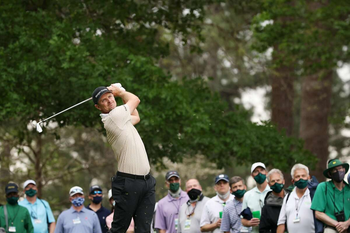 Justin Rose will continue his pursuit of a Masters title in Augusta, Ga., on Sunday. (CBS, 11 a.m.)