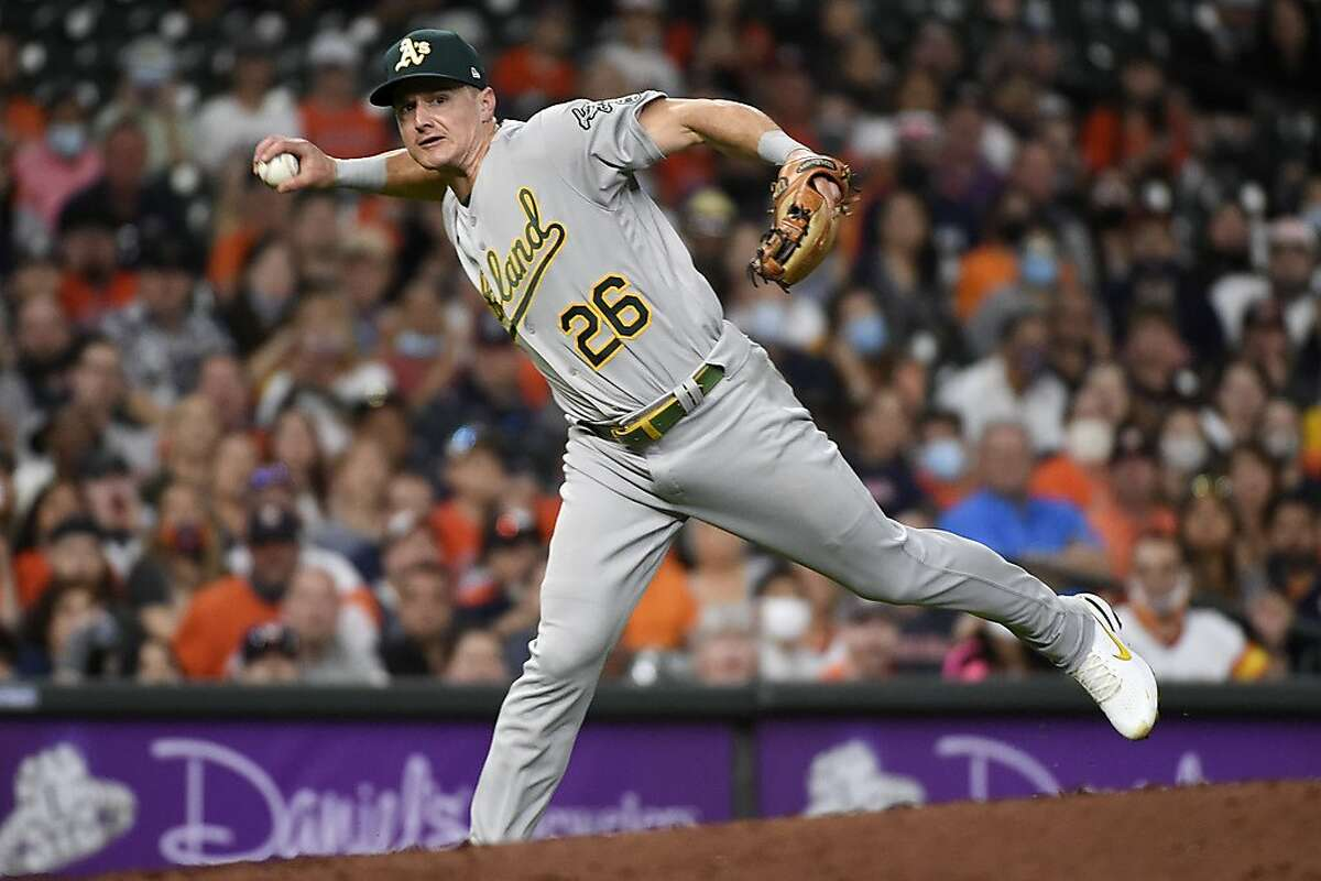 """Despite the A's 3-7 start, third baseman Matt Chapman said: """"I'm still confident in our team. I know what our team's capable of."""""""