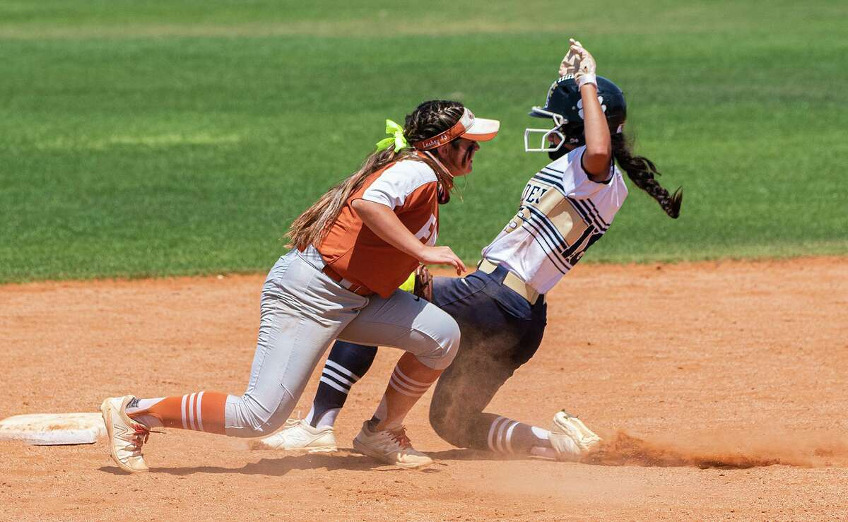 Magali Herrera and the Lady Bulldogs fell to Eagle Pass in extra innings on Saturday.