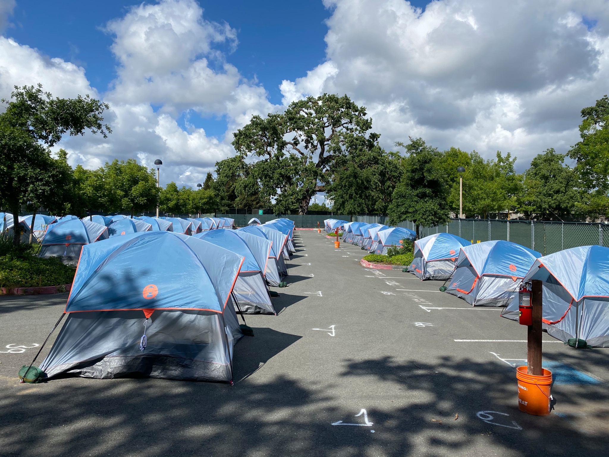 The Sonoma County town that embraced its tent city