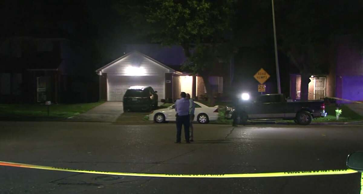 A man was found shot to death April 11, 2021, in a pickup truck in the 9400 block of Concourse Drive.
