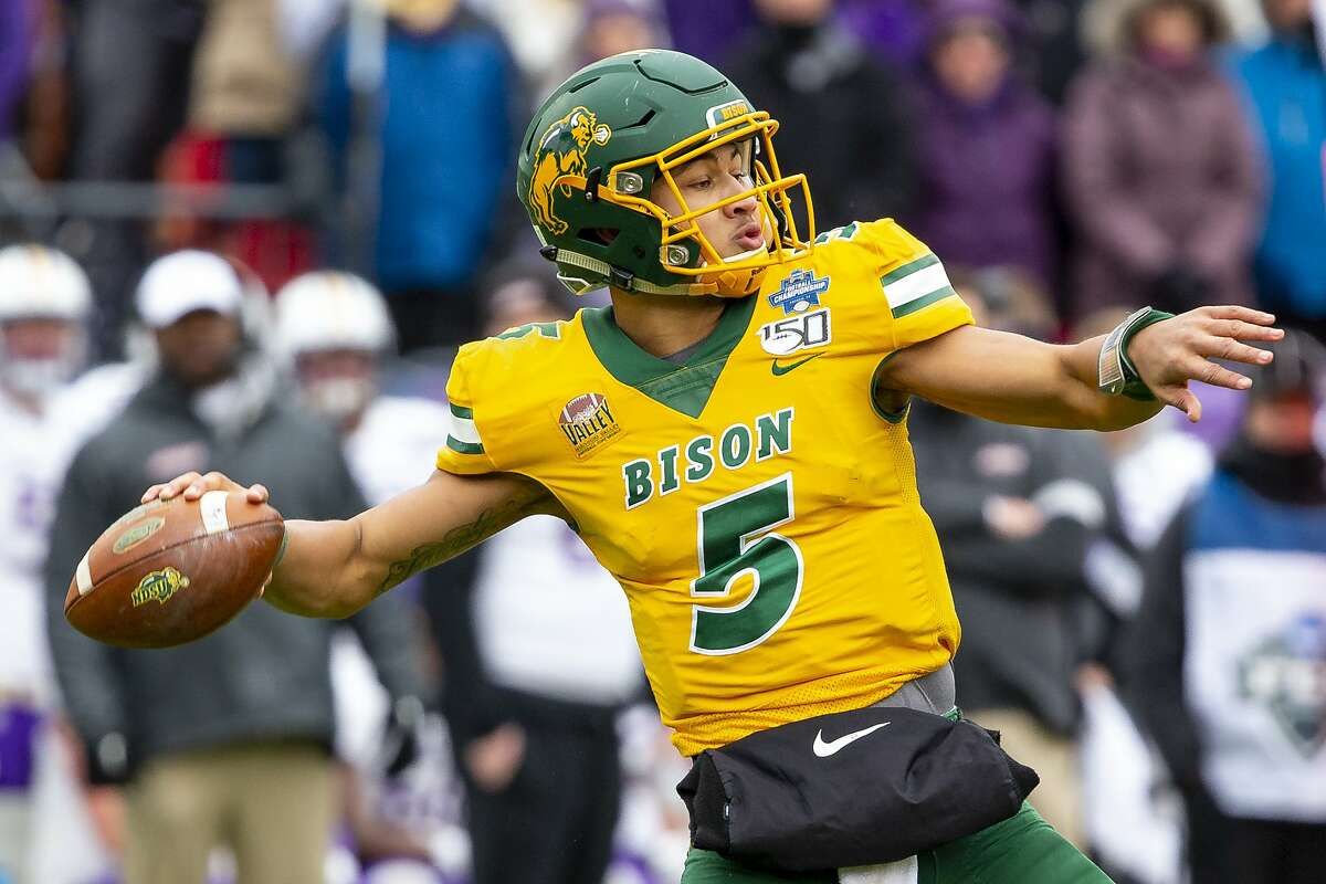 In 2019, North Dakota State quarterback Trey Lance went 16-0, won a national title, rushed for 1,100 yards, passed for 2,786 yards, accounted for 42 touchdowns and had one turnover (a lost fumble).