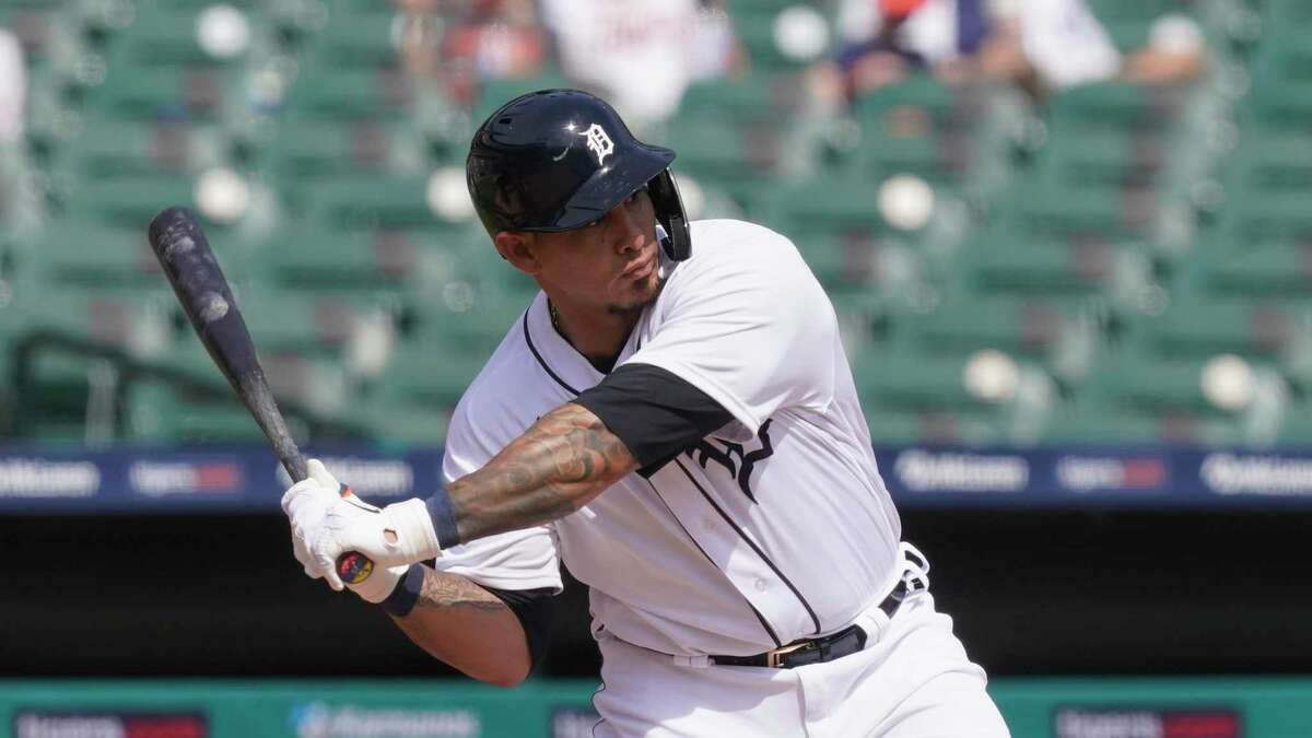 With four home runs and an .864 slugging percentage in his first seven games of 2021,Wilson Ramos has been a bright spot for a lackluster Tigers offense.