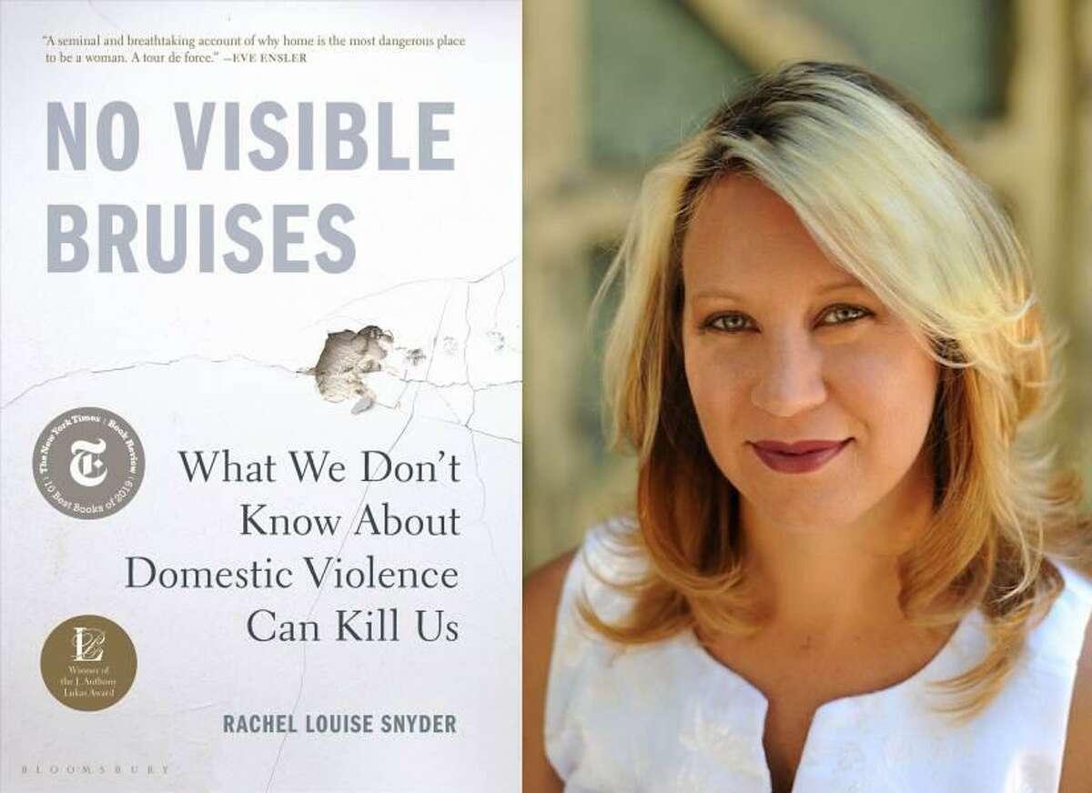 """Rachel Louis Snyder, autora de """"No Visible Bruises. What We Don't Know About Domestic Violence Can Kill Us"""", hablará durante un evento virtual de recaudación de fondos de Casa de Misericordia, el 22 de abril de 2021."""