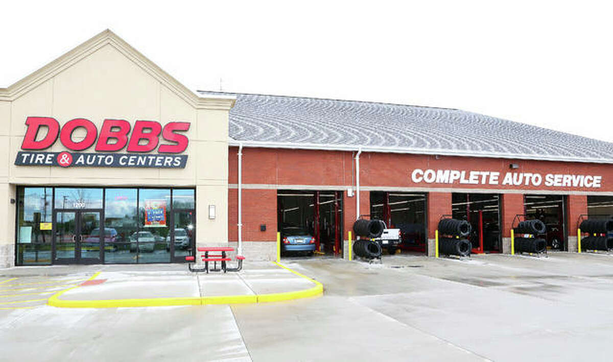 The new Dobbs Tire & Auto Centers West Edwardsville location recently opened at 1200 Route 157. A 24-hour car wash will soon open next door.
