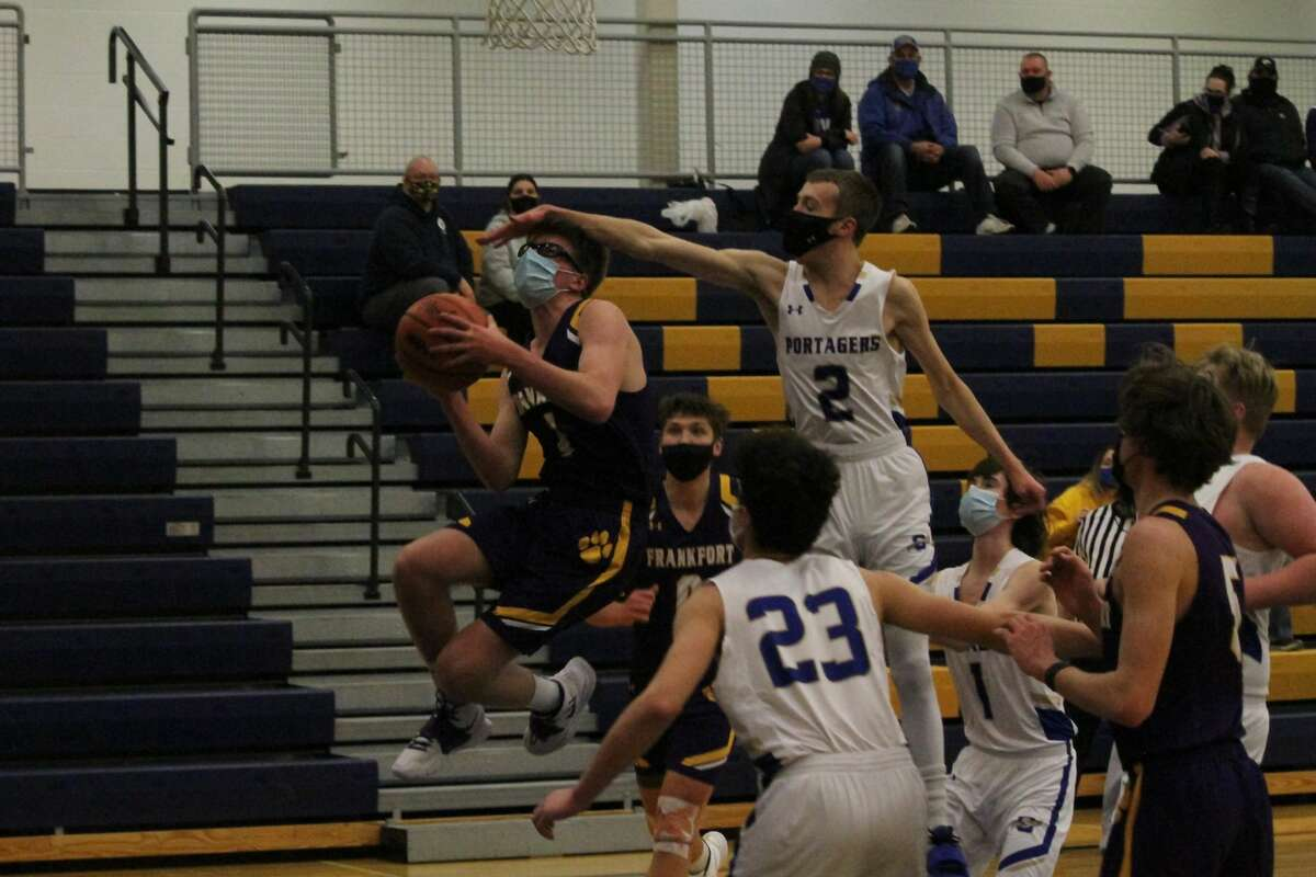 It was a rebuilding year for the Onekama boys basketball team. While the Portagers struggled to get into the win column, the group improved steadily throughout the season and nearly pulled off an upset of Brethren in their district opener.