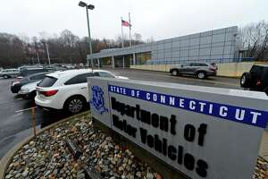 A file photo of the Department of Motor Vehicles in Norwalk, Conn.