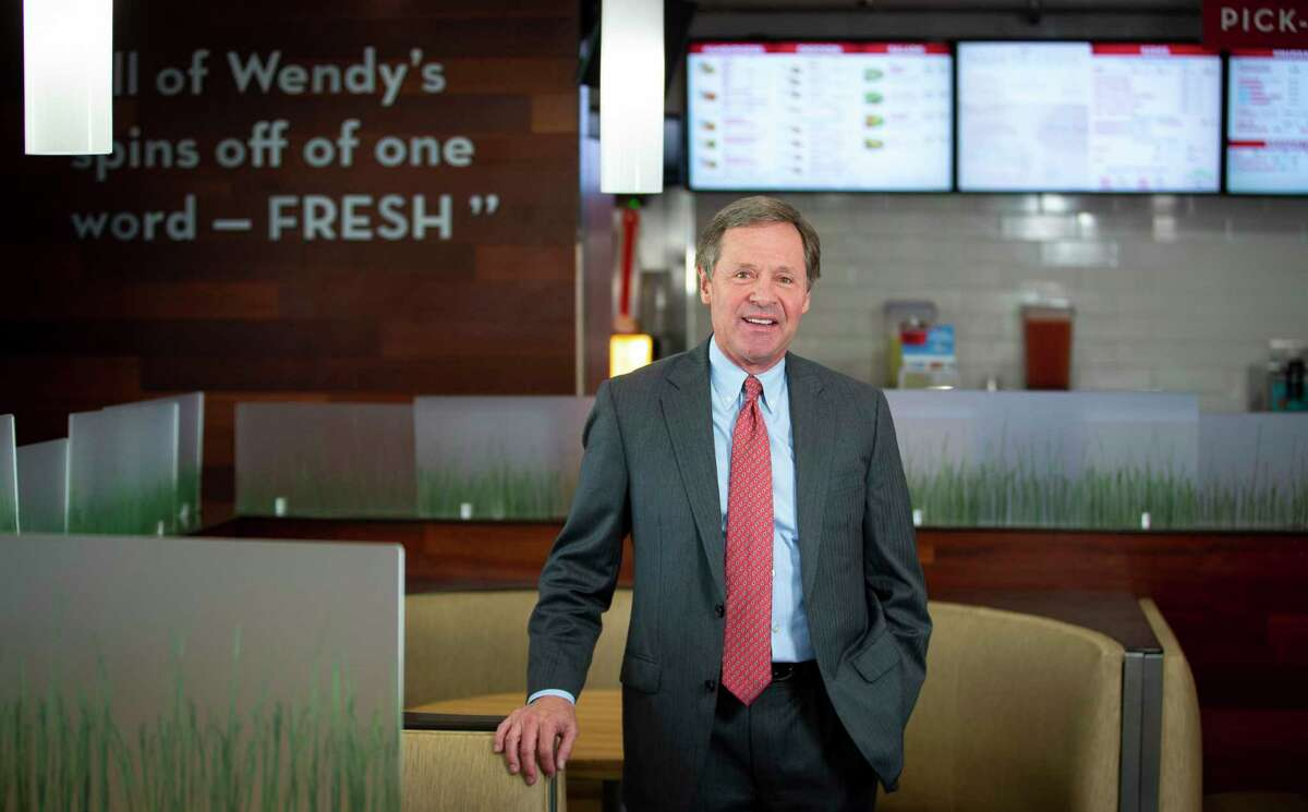 Paul B. Murphy, Jr., chairman and CEO of Cadence Bancorp, at a client's Wendy's franchise in Houston. Murphy will serve as executive vice chairman of the combined entity. Photographed Thursday, May 23, 2019.