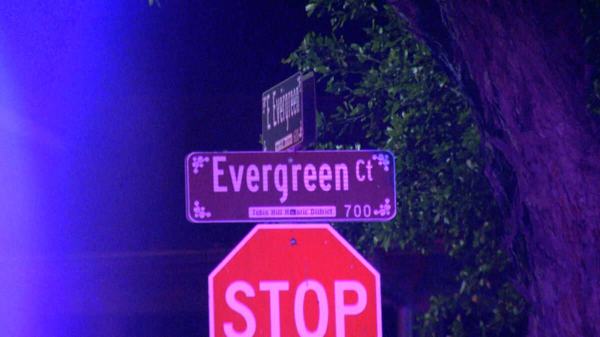 San Antonio police are searching for a suspect after a bicyclist was found shot dead in the 600 block of Evergreen Court early Monday morning.