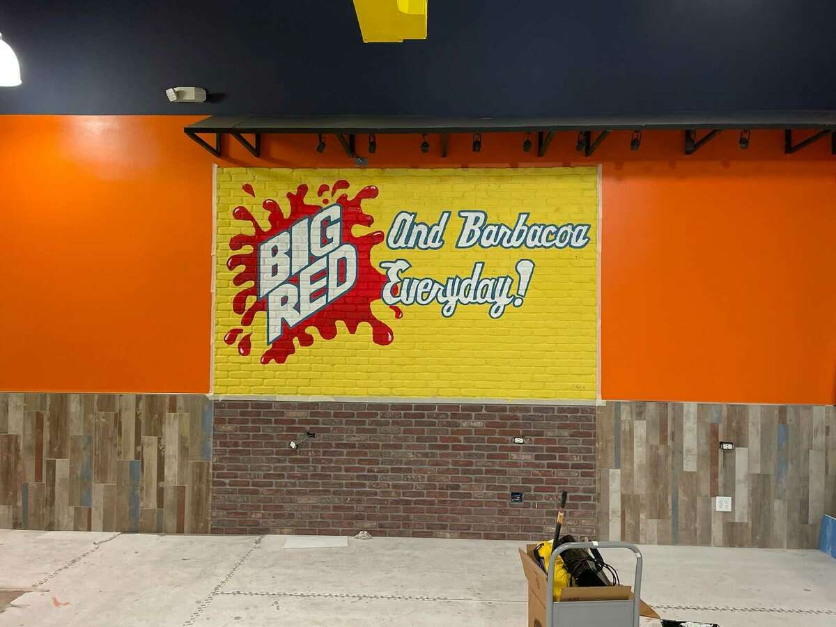 The iconic Big Red and barbacoa mural will be inside the new Tommy's Restaurant location.