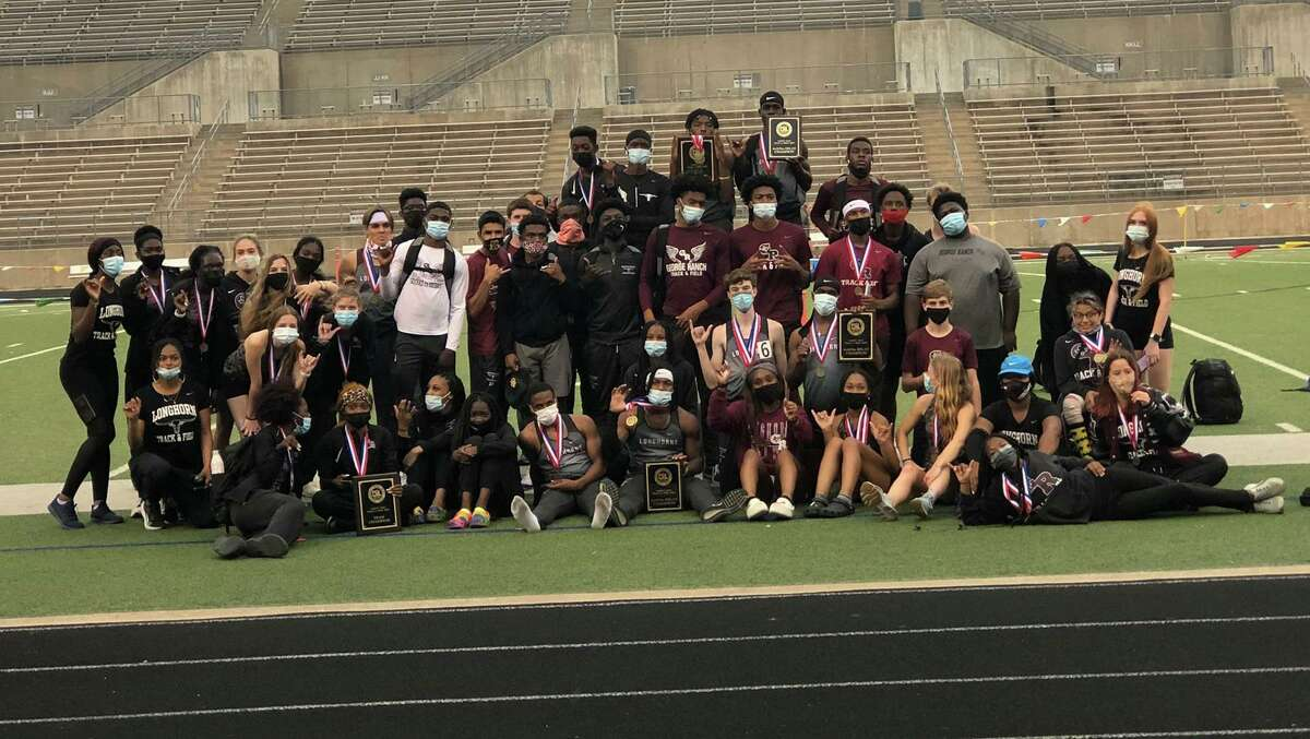 The George Ranch track and field teams swept the District 20-6A championships. The Longhorns will compete at the 19-6A/20-6A area meet this week.